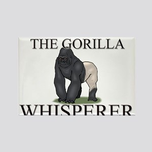 The Gorilla Whisperer Rectangle Magnet