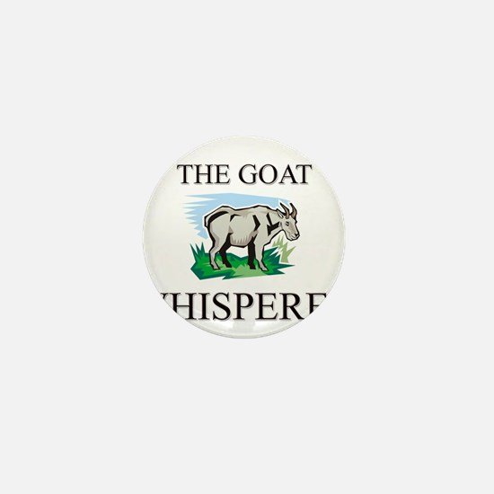 The Goat Whisperer Mini Button