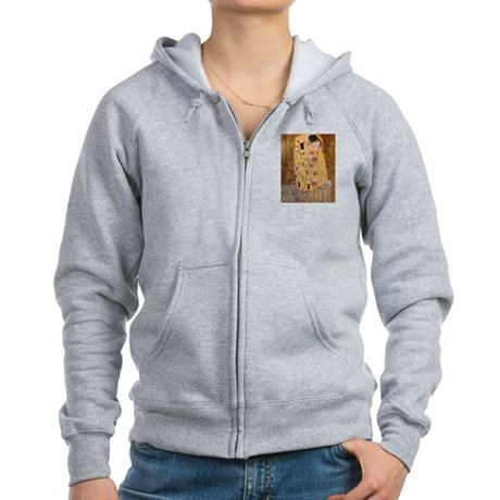 Gustave Klimt Women's Zip Hoodie