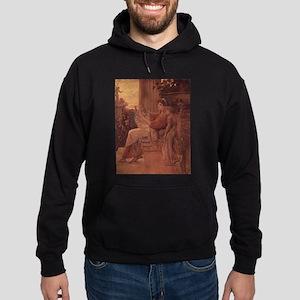Klimt's Sappho Hoodie (dark)