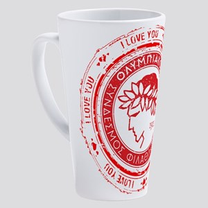 OSFP I LOVE U 17 oz Latte Mug