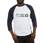 Recycle your children Baseball Jersey