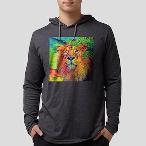 AnimalColor_Lion_001_by_JAMFot Long Sleeve T-Shirt