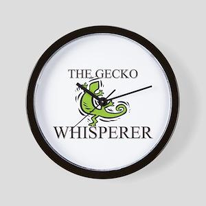 The Gecko Whisperer Wall Clock