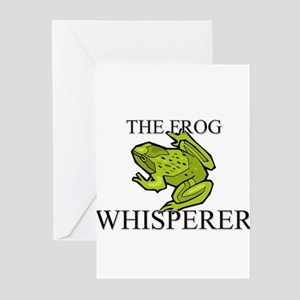 The Frog Whisperer Greeting Cards (Pk of 10)