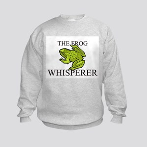 The Frog Whisperer Kids Sweatshirt