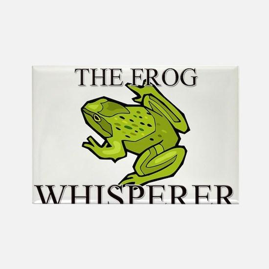 The Frog Whisperer Rectangle Magnet