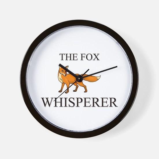 The Fox Whisperer Wall Clock