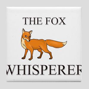 The Fox Whisperer Tile Coaster
