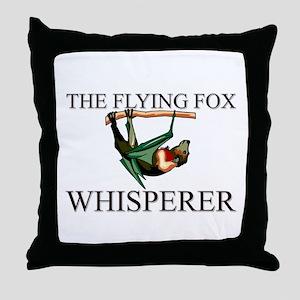 The Flying Fox Whisperer Throw Pillow