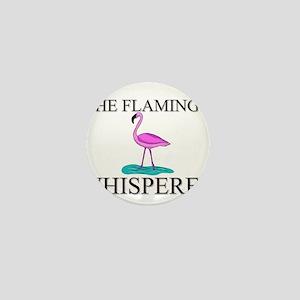 The Flamingo Whisperer Mini Button