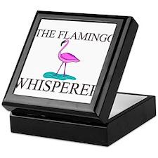 The Flamingo Whisperer Keepsake Box