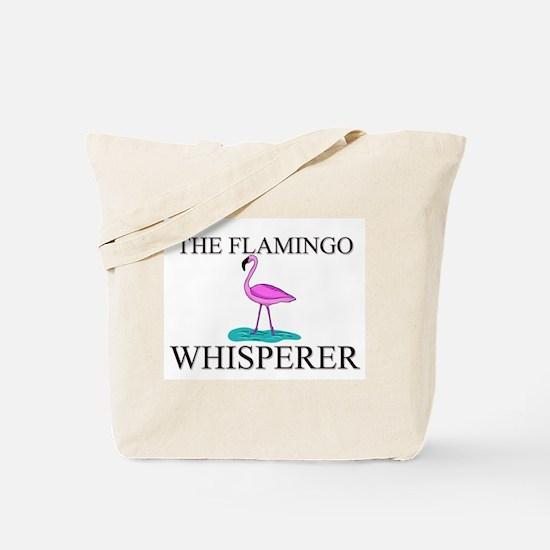 The Flamingo Whisperer Tote Bag
