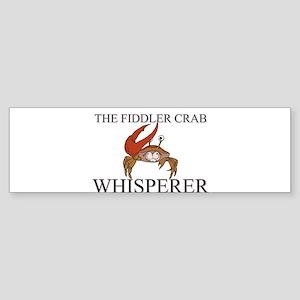 The Fiddler Crab Whisperer Bumper Sticker