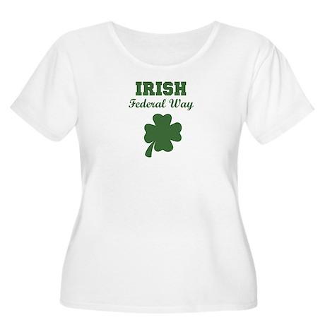 Irish Federal Way Women's Plus Size Scoop Neck T-S