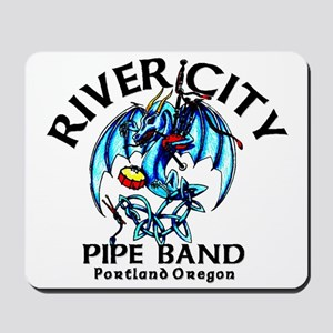 Piping/Drumming Dragon Mousepad