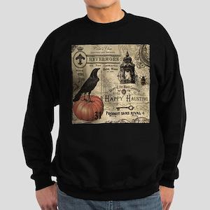 Modern vintage Halloween Hoodie Sweatshirt