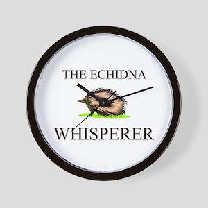 The Echidna Whisperer Wall Clock