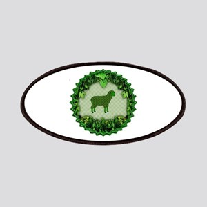Green Sheep Patch