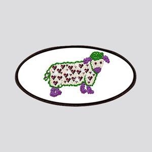 Chinese Year Of the Jewel Art Sheep Patch