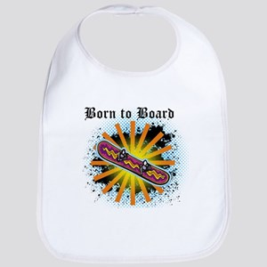 Born to Board Bib