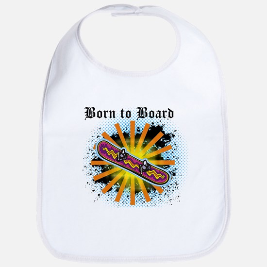 Born to Board Bib