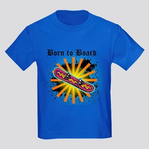 Born to Board Kids Dark T-Shirt