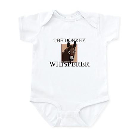 The Donkey Whisperer Infant Bodysuit