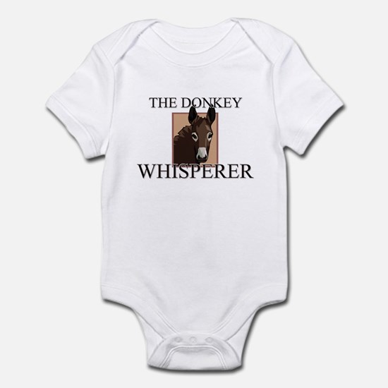 The Donkey Whisperer Infant Bodysuit