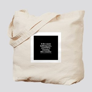 More indictments (mini type) Tote Bag