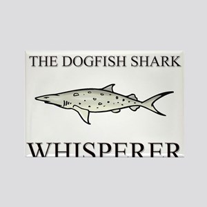 The Dogfish Shark Whisperer Rectangle Magnet