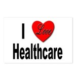 I Love Healthcare Postcards (Package of 8)