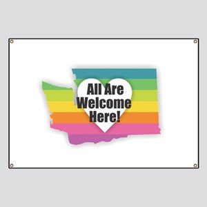 Washington - All Are Welcome Here Banner