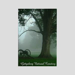 Gettysburg Natl Cemetery Rectangle Magnet