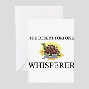The Desert Tortoise Whisperer Greeting Cards (Pk o