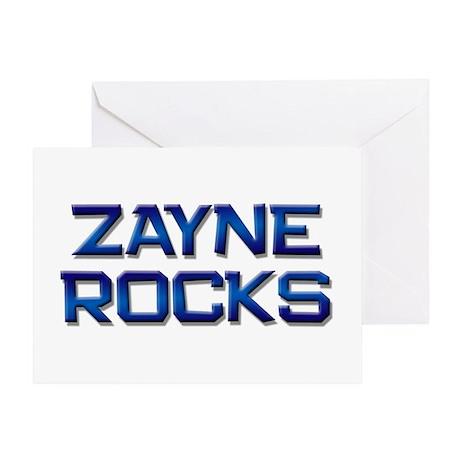 zayne rocks Greeting Card