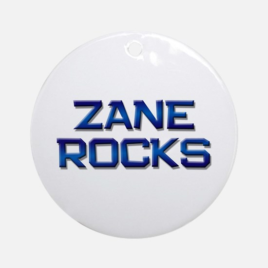 zane rocks Ornament (Round)