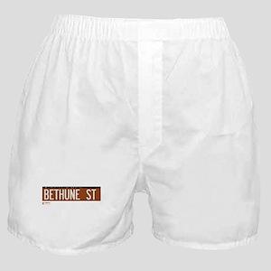Bethune Street in NY Boxer Shorts