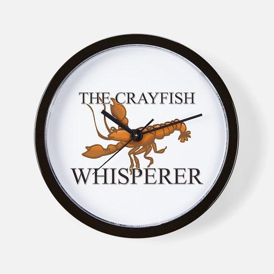 The Crayfish Whisperer Wall Clock