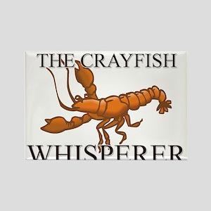 The Crayfish Whisperer Rectangle Magnet