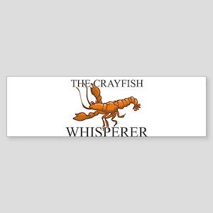 The Crayfish Whisperer Bumper Sticker
