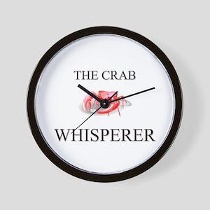 The Crab Whisperer Wall Clock