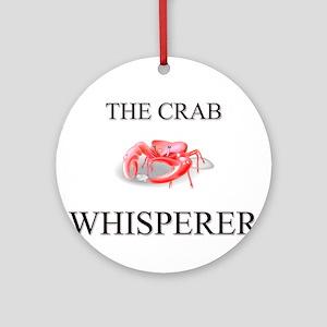 The Crab Whisperer Ornament (Round)