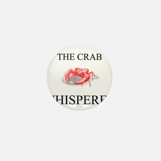 The Crab Whisperer Mini Button