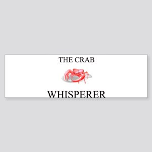 The Crab Whisperer Bumper Sticker