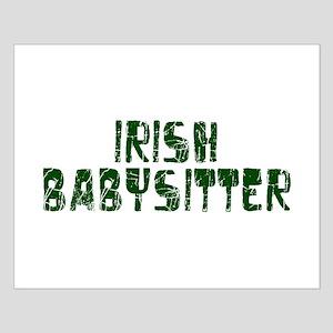 Irish Babysitter Small Poster