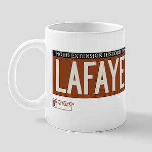 Lafayette Street in NY Mug