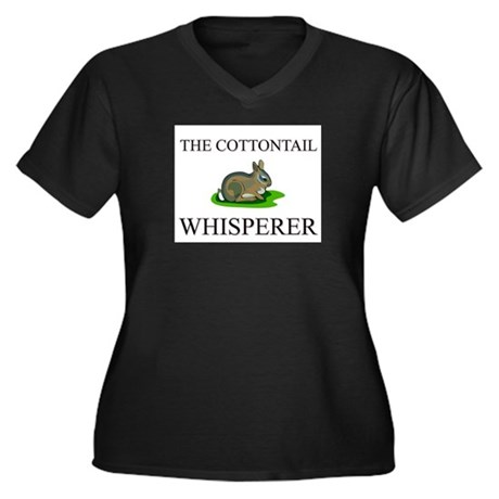 The Cottontail Whisperer Women's Plus Size V-Neck