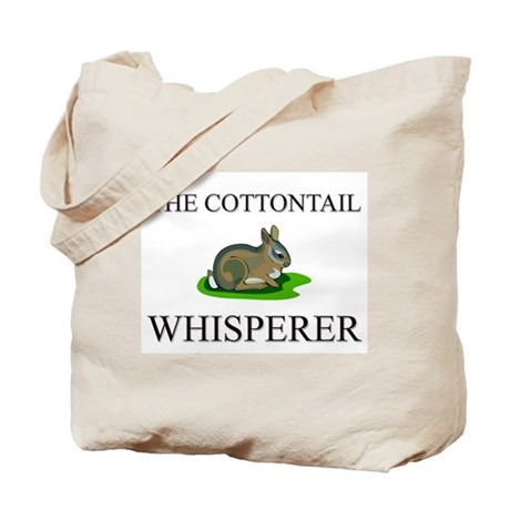 The Cottontail Whisperer Tote Bag