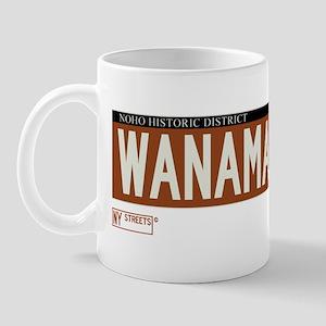 Wanamaker Place in NY Mug
